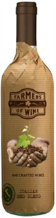 Farmers Of Wine Italian Red Blend 2011...